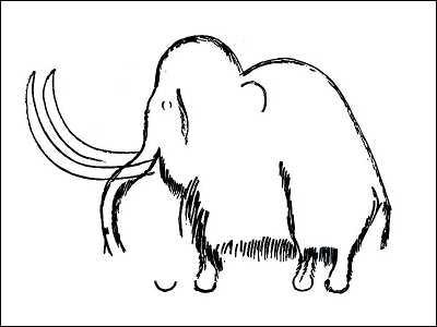Mammoth of Font de Gaume